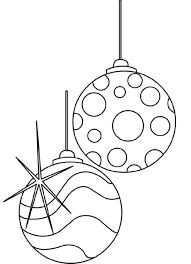 christmas ornaments coloring pages coloringsuite com