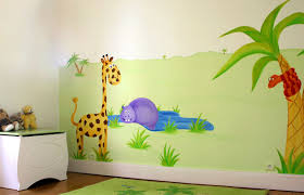 décoration jungle chambre bébé déco chambre bébé jungle