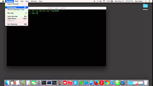 wallpaper terminal mac change terminal mac default background color youtube
