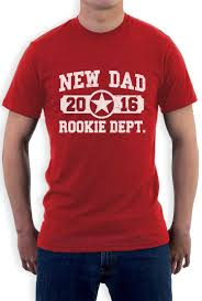 tops new 2016 rookie department gifts for fathers t shirt