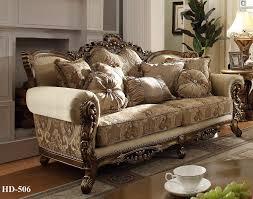 couch and loveseat set homey design hd 506 antique victorian european 3 pcs sofa set