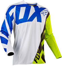 fox jersey motocross fox jersey 360 creo white yellow 2017 maciag offroad