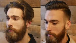 extreme modern hair u0026 beard makeover transformation men u0027s