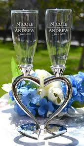 wedding gift glasses best 25 engraved chagne flutes ideas on and