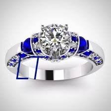 doctor who engagement ring doctor who inspired sapphire swarovski engagement ring