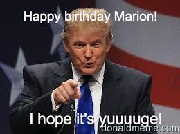 marion donald trump meme