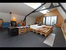 Crate Bed Frame 20 Brilliant Wooden Pallet Bed Frame Ideas For Your House Youtube