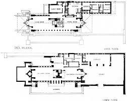 Frank Lloyd Wright House Plans by Floor Plan Of Robie House U2013 House Design Ideas