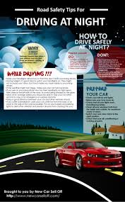 tips for driving a new car infographic driving at