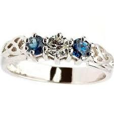 friendship rings meaning celtic symbolism and sapphire a match for iconic