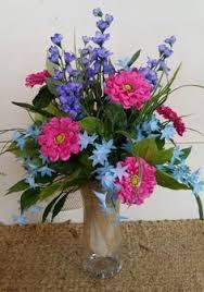 cemetery flower arrangements summer cemetery vase arrangement my creations