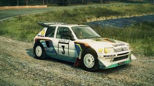 peugeot 205 group b historical liveries