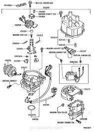 distributor toyota part list jp carparts com