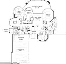 House Plans Courtyard Hennessey House Courtyard 8093 4 Bedrooms And 4 Baths The