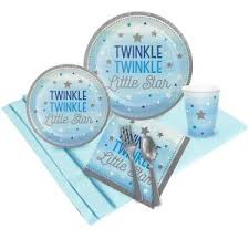 baby shower tableware awesome moon and baby shower decorations ideas baby shower