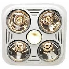 Bathroom Heat Light Fan Gorgeous Bathroom Heater With Light 4 Exhaust Fan 1311 Home Ideas