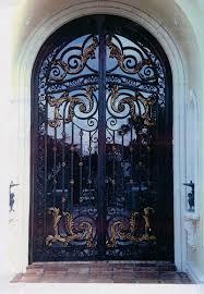 ornamental iron security doors wrought iron security door