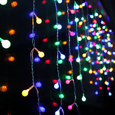 Indoor Curtain Fairy Lights 2mx1m 104 Led 104 Led Curtain String Lights Home Wedding Party