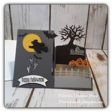 maria u0027s creative place halloween stampin up spooky fun step card