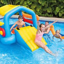 inflatable yard slides inflatable pool slides intex inflatable