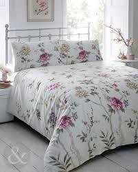 annette vintage purple floral printed duvet cover duvet covers uk