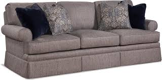 braxton culler slipcover sofa braxton culler living room three cushion sofa 7226 011 braxton