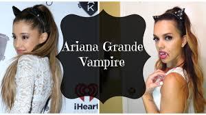 ariana grande costumes for halloween ariana grande vampire halloween tutorial 2014 youtube