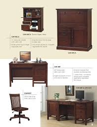 Office Table Front View Low Prices U2022 Winners Only Willow Creek Office Furniture