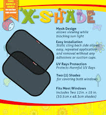amazon com car window sunshade by x shade best easy twist