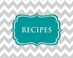 editable recipe binder printables meal planning recipe