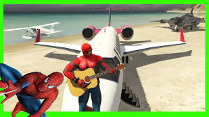 airplane for kids cartoon with spiderman funny airplanes video and