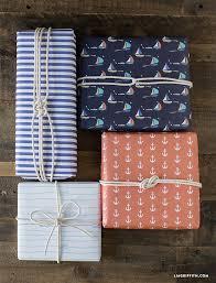 nautical wrapping paper nautical wrapping paper set lia griffith