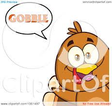 clipart of a thanksgiving turkey bird peeking out