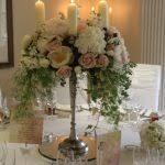 wedding flowers candelabra centerpiece 15 candelabra floral