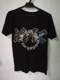 Baju Ac Dc baju band acdc clothes for sale in sandakan sabah