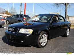 2002 audi a6 2 7 t quattro 2002 audi a6 2 7t quattro sedan in brilliant black 031787