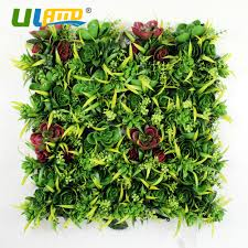 Home Garden Decoration Aliexpress Com Buy Uland Artificial Hedge Plastic Plants Fence