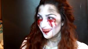 tutoriel maquillage halloween bloody mary youtube