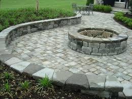 Firepit Brick Brick Pit Ideas Outdoor Pits With Bricks Diy Brick