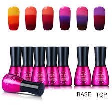 amazon com beau gel 7ml tri color temperature color changing gel
