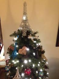 eiffel tower tree topper oh tree