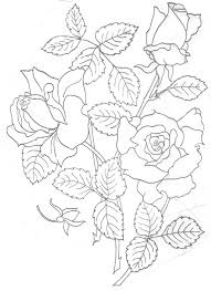 free hand embroidery flowers patterns embroidery pillowcase