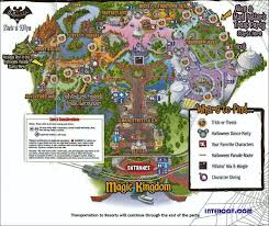 Disney World Park Maps Walt Disney World Disney World Vacation Information Guide