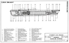 star trek blueprints miranda class starship u s s reliant ncc 1864