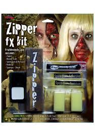 fx prosthetics for halloween zipper fx makeup kit