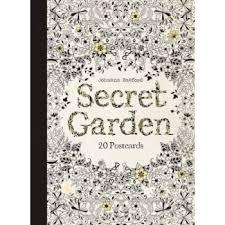 secret garden colouring book postcards secret garden 20 postcards secret garden coloring book