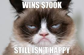 Mean Kitty Meme - grumpy cat just won 700 000 in federal court