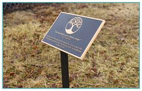 outdoor memorial plaques outdoor memorial plaques for trees