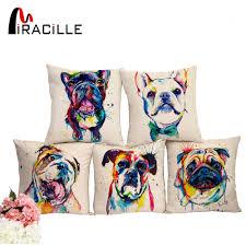 sofa franzã sisch aliexpress miracille platz 18 französisch bulldog gedruckt