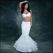 underskirts for wedding dresses high end mermaid bridal petticoats slip elastic wedding